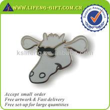 Custom Cartoon Animal Shape Cloisonne Lapel Pins