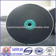 High strength fabric conveyor endless rubber belt