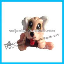 wholesale mini plastic dog toys,pvc puppy toys