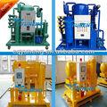 Móvil mini motor refinería de petróleo, Residuos de refinería de petróleo planta