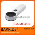 ( bm- mg4014) 20x de mano de fibra óptica led lupa