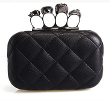 HOT !clutch skull bag for women high fashion EG102