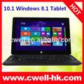 10,1-zoll-fenster tablet pc mit tastatur