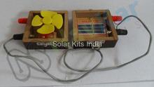 Solar Fan (Wooden)
