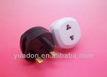 uk plug to EU/US socket adapter
