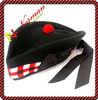 Standard Triple Diced Glengarry Hat -HT1007