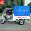 Africa Popular Cargo Passenger Double Usage Rear Canvas 3 Wheel 200cc Pedicab For Sale