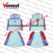 customized 100% polyester basketball top jerseys
