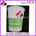 impressão personalizada de copos descartáveis de papel