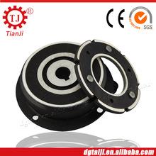 Dongguan tj-a vendita calda elettrico magnetico frizione con guida bobina magnetica frizione frizione elettromagnetica 24v 2.5kg 22 nm di coppia