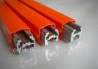 single pole H-type aluminium busbar system
