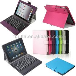 Wireless Bluetooth Keyboard PU Leather Cover Case for iPad 3 4 5 iPad Mini