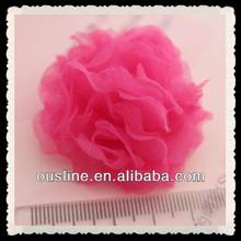 artificial flower. seersucker bridal headpiece use flower, wedding fascinators