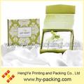 Magnifique livre de conception de style magnétique. boîte en carton pour emballage masque de sommeil, cosmétiques boîte d'emballage, custom made boîte de cosmétiques