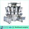 High speed high accuracy ten bucket stainless steel hopper weighing Frozen fish packing machine