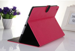2014 the new arrival best Quality leather case for ipad mini .leather super case with Stand holder and mix colors