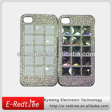 Full Rhinestone Hard Cell Phone Case For IPhone 4