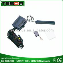 Transponder immobilizer w/ferrous antenna