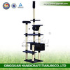 QQPET 2014 high quality cat condo with pet house/direct manufacture