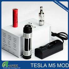 Tesla series electric hookah vaporizer is hookah tesla with new atomizer Tesla M5