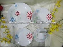 20pcs hot sale plate set/ceramic tableware wholesale/commercial dinnerware set