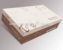 Fashion carton box for shoes in shanghai