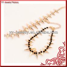 Acrylic Stone Spike Rivet Bracelet Wholesale