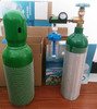 1L-10L Medical Aluminum Oxygen Gas Cylinder With Valve for Ambulance/Hospital/Clinic Supply