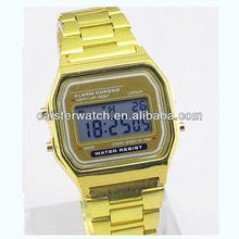 2014 New golden digital watches ben sports best seller watch 3 atm water resistant