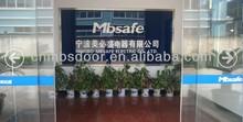Mbsafe cheap automatic frameless sliding glass door system