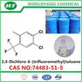 3,4- dicloro-s- 6-( trifluoromethyl) tolueno 74483-51-5
