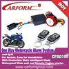 Universal 12V alarm system motorcycle with remote engine start