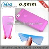 2013 New product 0.5mm or 0.3mm Ultrathin case for iphone 5 case, for iphone case China manufacturer