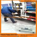 Healty hutch plato de elevación de basura de camiones escala de pesaje sistema/weighin de desperdicios de comida en- junta de residuos pesa