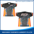 Motocross jersey sublimation printing