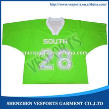 Sublimation reversible lacrosse t shirt for women