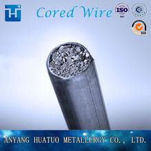 Manufacturing Cored wire/Ferro Silicon Calcium alloy/Ca Fe cored wire China