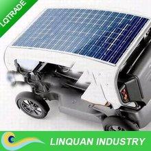 80W /18V Semi Flexible Solar Panel for tourist cars
