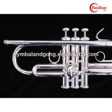 GTR-300S standard series Bass Trumpet Silver Plated