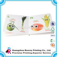Printing children story hard board book children cardboard book printing