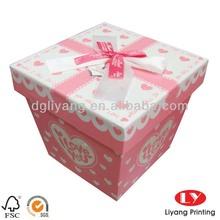 New sweet paper box wedding favors