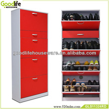 red door cover wood shoe holder from china factory