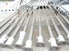 Q235 Steel galvanized decorative street lighting poles