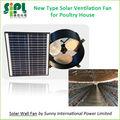 Novas opções! Gable montagem na parede solar ventilação exaustor avesdecapoeira para casa