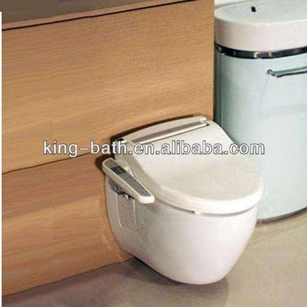 Sanitair muur hing wc bidet keramische wand badkamer toilet muur keramisch toilet toiletten - Muur wc ...