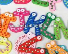 Baby's Early Educational Toys/Alphabet Wooden Fridge Magnet Toys