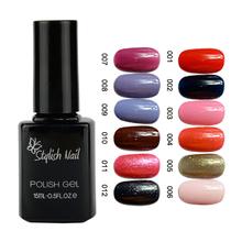Venta caliente colores 1-12 remoje off con estilo de uñas de gel para esmalte de uñas