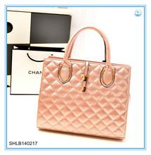 Embroider line female bag Iron accessory decoration pu handbag