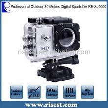 Professional 30 Meters Waterproof HD Mini Sport DV Camcorders RE-SJ4000