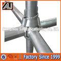 guangzhou fabricante de rodamientos de alta capacidad de acero cuplock sistema de andamios